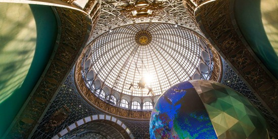 Исторический павильон «Космос» на ВДНХ стал новой площадкой для бракосочетания