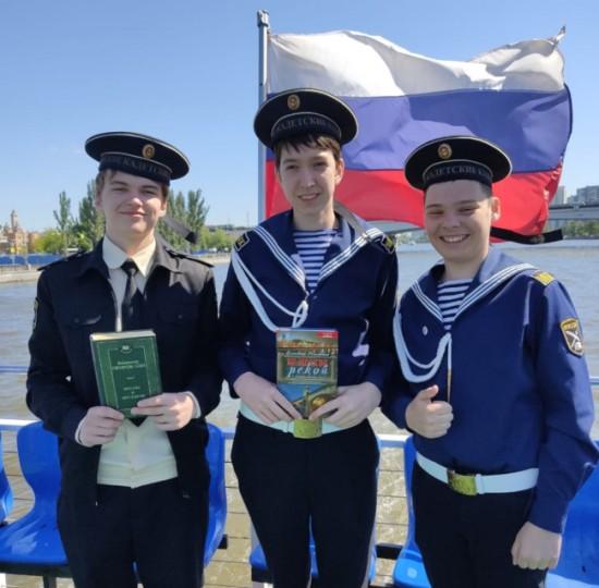 Кадеты школы №1161 отправились в литературное путешествие по Москве-реке