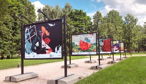 Фотовыставка «Сказки в стиле великих художников» проходит в Воронцовском парке