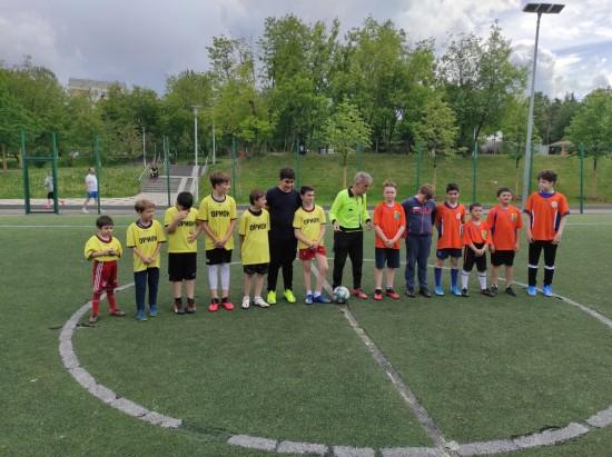 В Академическом районе Москвы состоялся районный турнир по мини-футболу