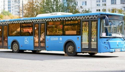 В Теплом Стане объединят два автобусных маршрута
