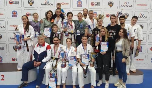 Спортсмены «Самбо-70» на турнире по киокусинкай завоевали 6 золотых наград