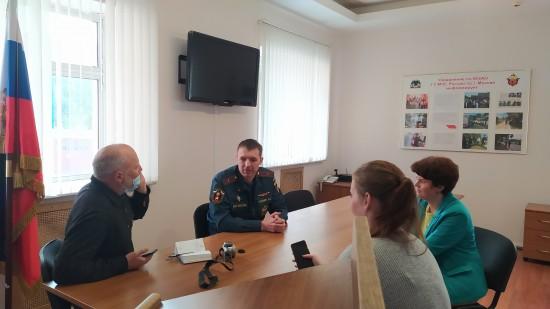 Управления по ЮЗАО ГУ МЧС России провело пресс-конференцию по вопросам безопасности отдыха граждан у воды