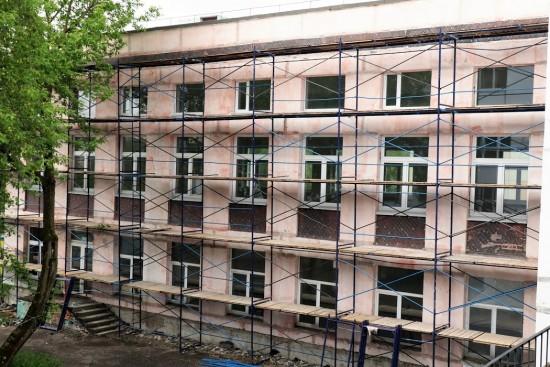 Ремонт школы № 17 планируют завершить в середине августа