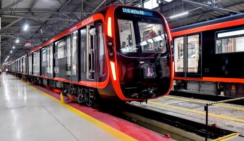 Парк поездов на Калужско-Рижской линии обновили почти на 50 процентов