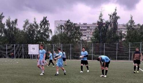 Сборная команда Южного и Северного Бутова победила в турнире по футболу, посвященному Дню России