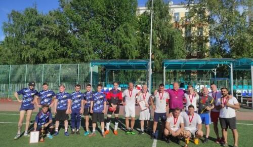 Команда Северного Бутова победила в отборочных соревнованиях по футболу в рамках межокружной Спартакиады «Спорт для всех»