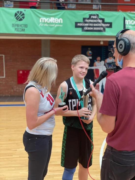 Ученик одной из Черемушкинских школ стал чемпионом России по баскетболу