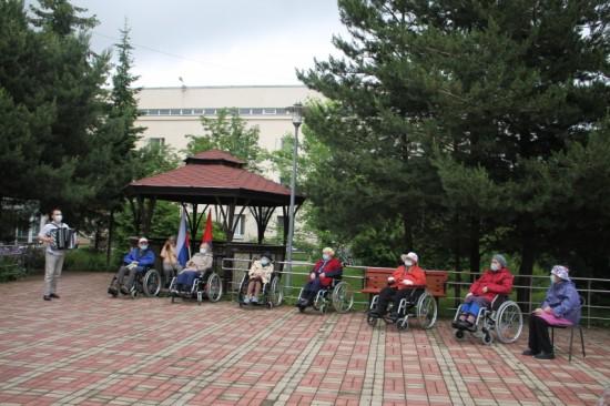 Вчера в Пансионате «Коньково» чествовали сразу двух именинников