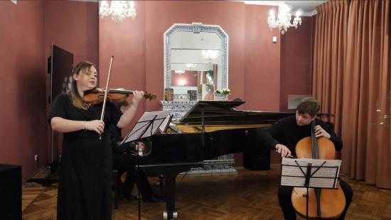 "Библиотека Данте Алигьери показала онлайн-концерт ""Два трио Брамса"""