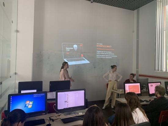 В Губкинском университете завершились  мастер-классы для молодёжи