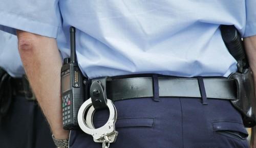 В Обручевском районе задержали женщину применившую насилие в отношении полицейского