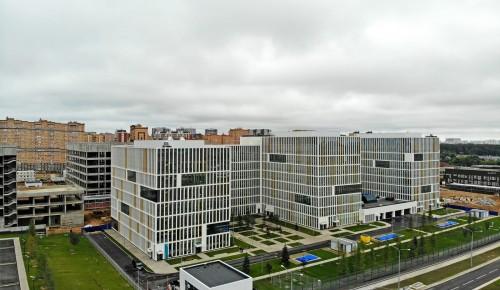 Мишустин и Собянин открыли детский инфекционный корпус больницы в Коммунарке