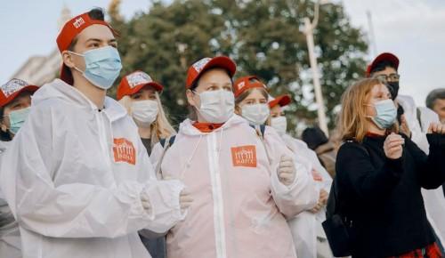 Сергунина рассказала о популярности добровольчества среди московской молодежи