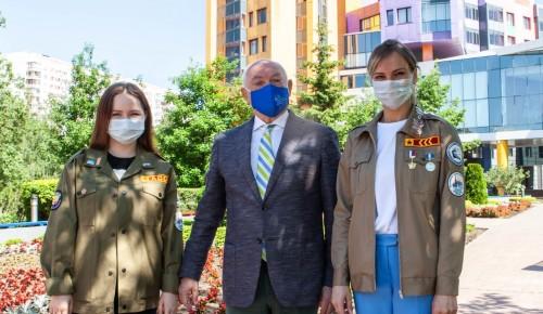 Доктор Румянцев и студенческий медотряд РСО договорились о совместной работе