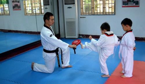 Школа №1536 приглашает детей в секцию карате в новом учебном году