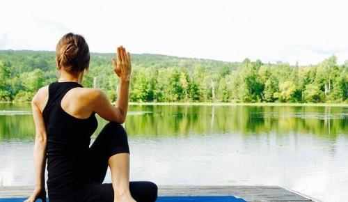 Библиотека № 185 опубликовала видеоурок в  День йоги