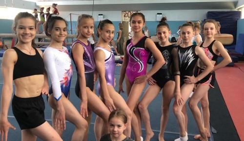"""Воспитанницы """"Самбо-70"""" завоевали медали на Всероссийских соревнованиях по спортивной гимнастике"""