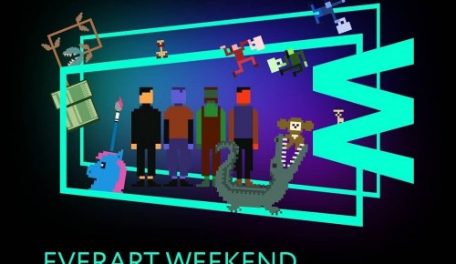 """Галерея """"Нагорная"""" стала участником фестиваля """"EverArt Weekend: Игры в искусство"""""""