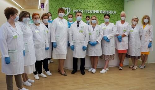 В Черемушках готовится к открытию после капремонта четвертый филиал детской поликлиники № 10