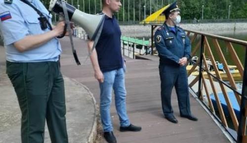 В ЮЗАО организовано патрулирование водоемов в целях обеспечения безопасности людей