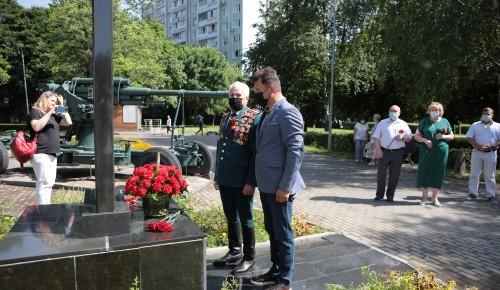 Романенко принял участие в митинге в Парке имени 30-летия Победы на юге Москвы