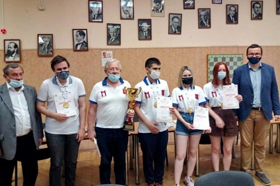 Шахматист Московского дворца пионеров выиграл блиц-турнир Спартакиады молодёжи России