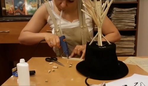 В библиотеке состоялся мастер-класс по созданию бумажной скульптуры