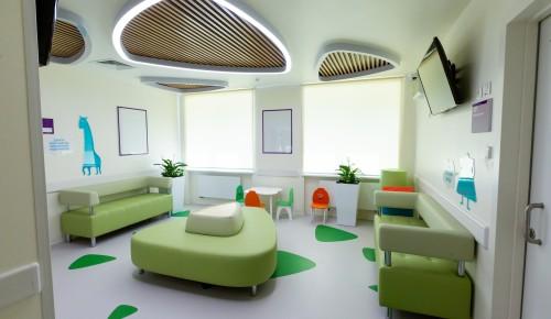 С сегодняшнего дня в Черемушках открылся после капремонта четвертый филиал детской поликлиники № 10