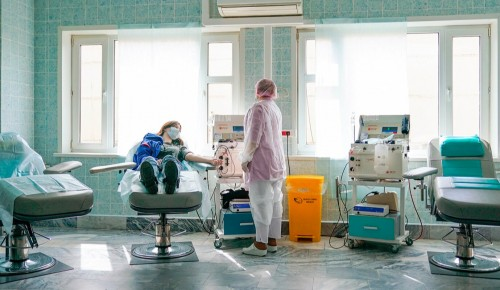 Переболевшие коронавирусом москвичи могут стать донорами для больных COVID-19