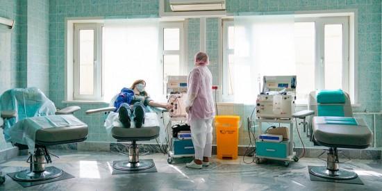 Переболевшие COVID-19 москвичи могут стать донорами плазмы для заражённых пациентов
