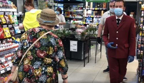 Магазин «Перекрёсток» в ЮВАО опечатали после выявления случаев COVID-19 у персонала