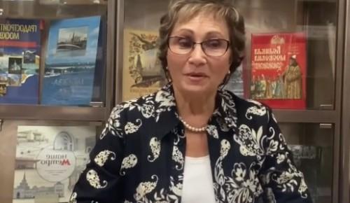 """Сотрудница библиотеки №184 Алла Жаркова дала интервью в рамках проекта """"Лестница души"""""""
