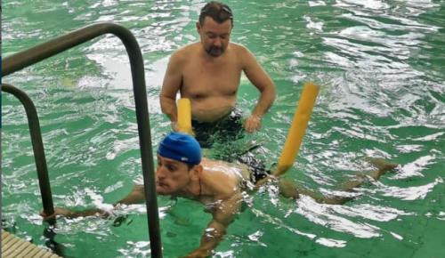 Подопечные пансионата №6 для ветеранов посетили бассейн