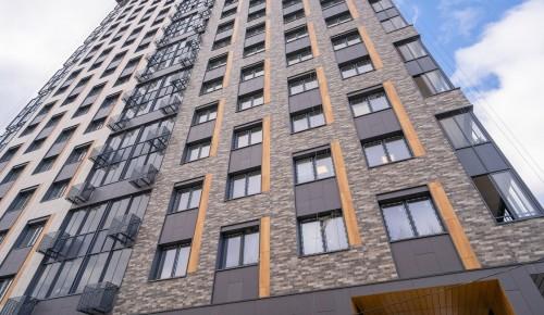На улице Гарибальди в Обручевском районе построили дом по программе реновации