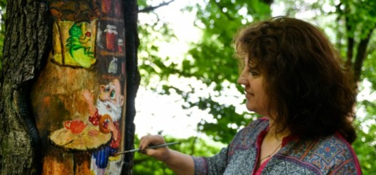 Собянин рассказал, как рисунки помогают поврежденным деревьям