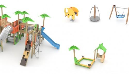 Стало известно, как будут выглядеть детские площадки в Котловке