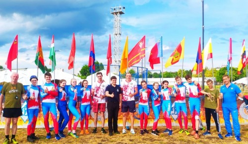 Московская команда показывает высокие результаты на Межрегиональных соревнованиях по пожарно-спасательному спорту