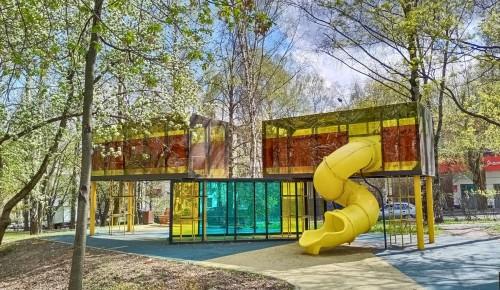 В парках Котловки  снова открылись детские и спортивные площадки