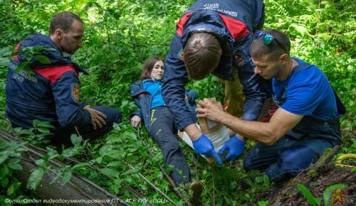 Нашли «потеряшку»: пожарные и спасатели провели тренировку и дали советы, как не потеряться в лесу