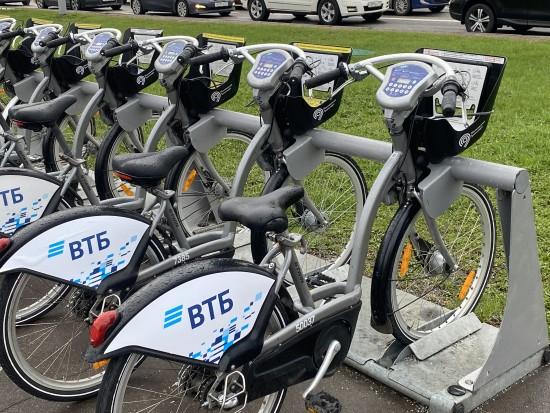 10 июля увеличится время бесплатного проката велосипедов до одного часа