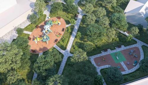 Собянин рассказал о создании парковых и пешеходных зон в пяти районах Москвы