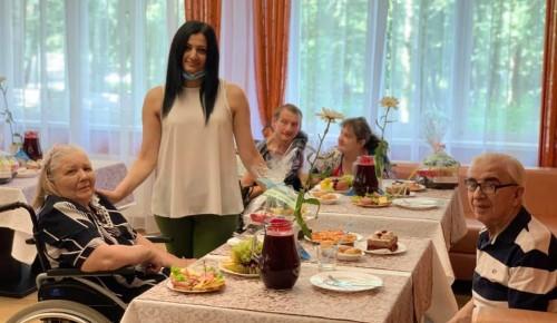 Подопечные пансионата ветеранов труда №6 отпраздновали День семьи, любви и верности