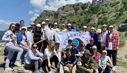 У студентов-геологов Губкинского университета завершилась геологическая практика в Крыму