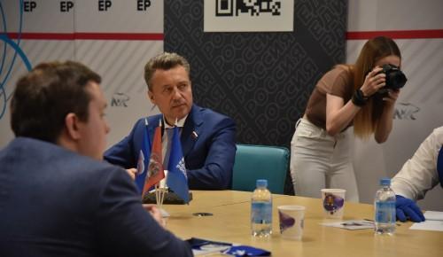 Анатолий Выборный: ««Единая Россия» поможет Москве стать самым отзывчивым и ответственным городом»