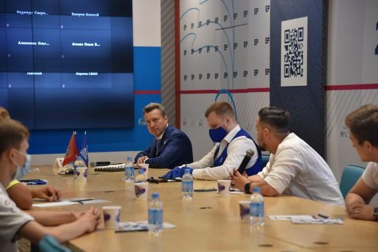 Анатолий Выборный: «Задача «Единой России» на ближайшие годы  – сделать Москву городом равных возможностей»