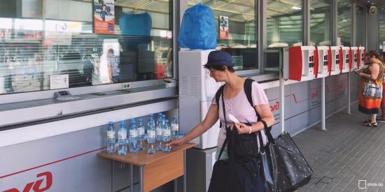 На столичных вокзалах будут бесплатно раздавать воду