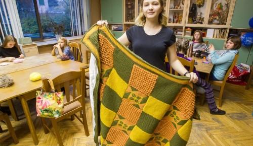 Мастерица из Московского дворца пионеров стала лауреатом фестиваля «Наследники традиций»