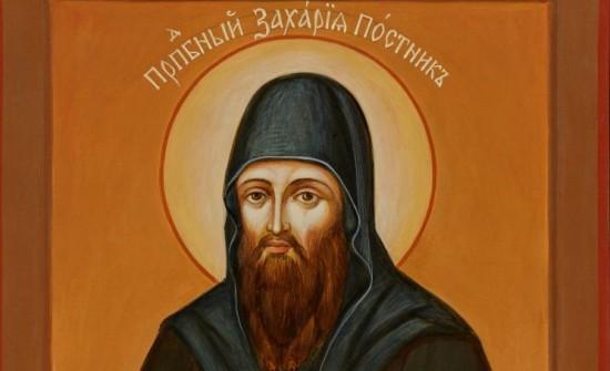 В храме Всех Преподобных Отцев освятили  икону  Захария Постника