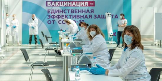 Более двух миллионов человек сделали прививку от COVID-19 за последний месяц - Собянин
